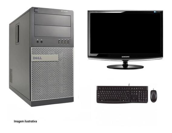 Computador Torre Dell 790 I5 8gb 320hd Monitor 18 Polegadas