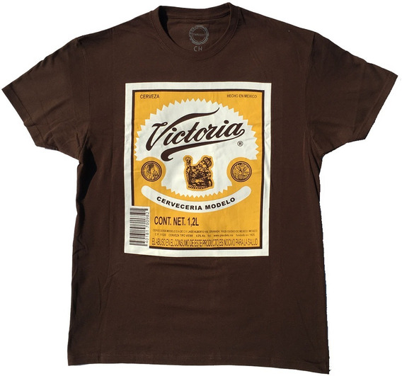 Playera Hombre Cerveza Victoria Caguama