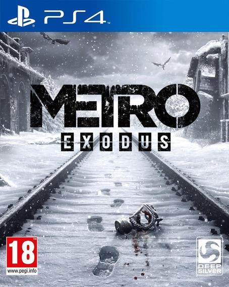 Metrô Exodus Ps4 Psn Original 1   Mídia Digital Português