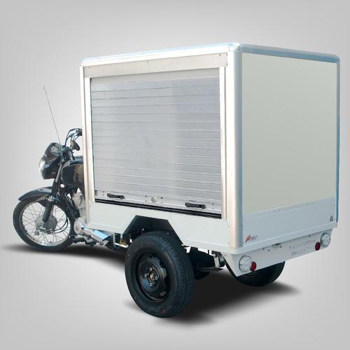 Triciclo De Carga Fusco F - Baú Bebidas - Transporta 300kg
