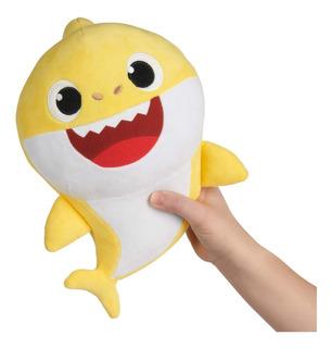 Baby Shark Peluche Musical 30cm Mommy Daddy Ó Baby Edu Full