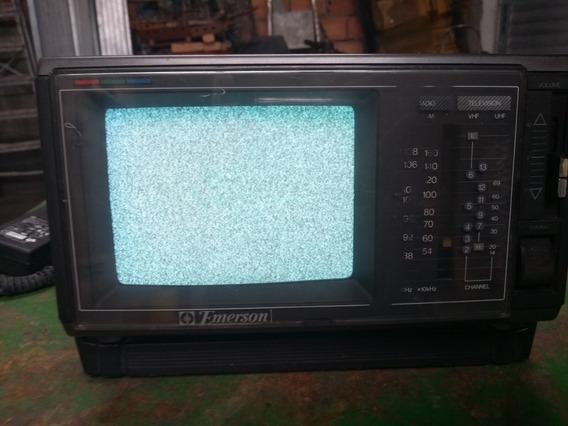 Tv Portátil Emerson 5,5 Colora Tv / Fm/ Am Receiver