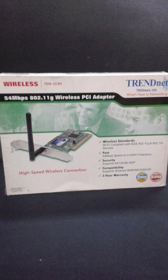 Placa De Red Trendnet Tew-423 Pi Nueva En Caja!