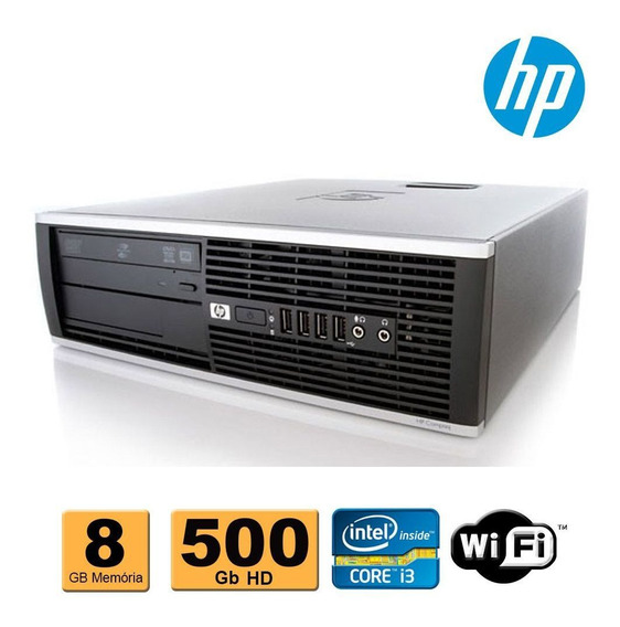 Cpu Hp Elite 8100 Intel Core I3 8gb Ram 500gb Dvd Wifi