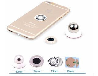 Suporte Celular Magnético 360 Graus iPhone Galaxy Samsung LG