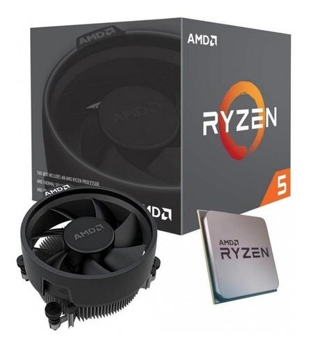 Procesador Gamer Amd Ryzen 5 3400g 4 Nuc Radeon Rx Vega 11