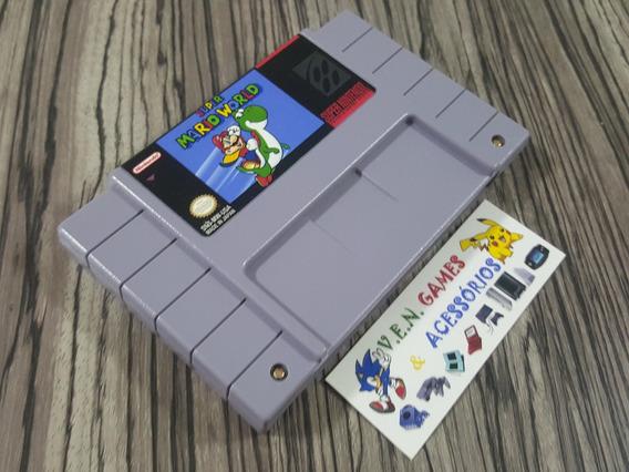 Super Mario World Original Snes + Garantia!!!!