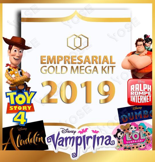 Kit Imprimible Empresarial Lol Fortnite Vampirina Unicornios