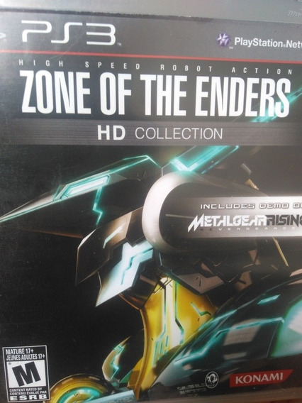 Zone Of The Enders Hd Collection Ps3 , A Pronta Entrega