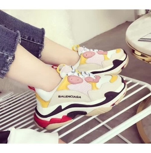 Zapatillas Balenciaga Triple S Triple Color Yellow