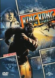 Dvd King Kong 2005 Jack Black Naomi Watts Original Lacrado