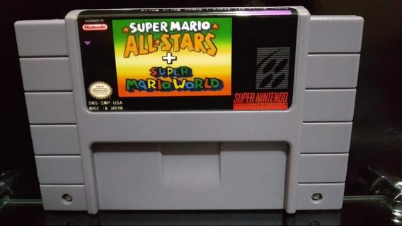 Fita / Cartucho Super Mario All Stars Super Nintendo Salvand