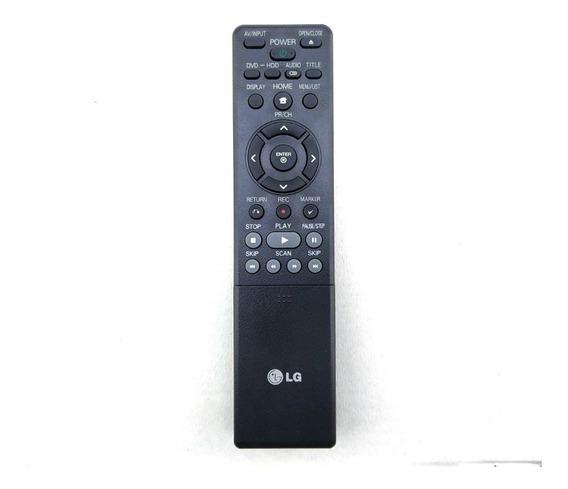 Controle Remoto Dvd Gravador LG Rh397h Rh397 - Original + Nf