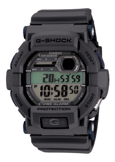 Relogio Casio G-shock Forças De Elite Gd-350-8cs