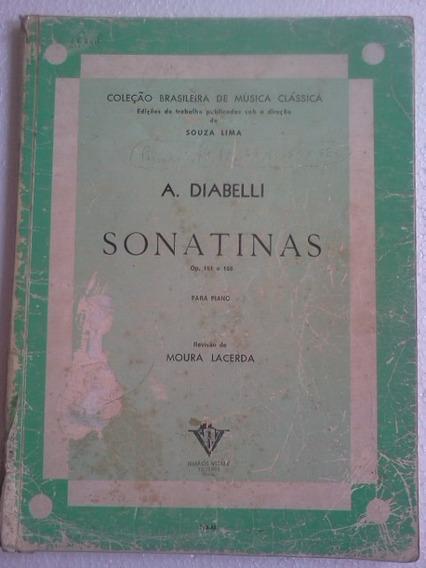 A Diabelli Sonatinas Op 151 E 168 Para Piano Partitura