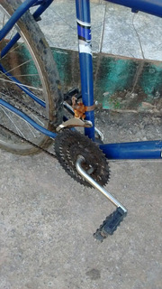 Bicicleta Braciclo Azul E Branca
