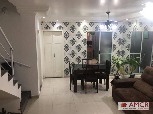 Sobrado Com 3 Dormitórios À Venda, 140 M² Por R$ 580.000,00 Na Vila Prudente! - So0738