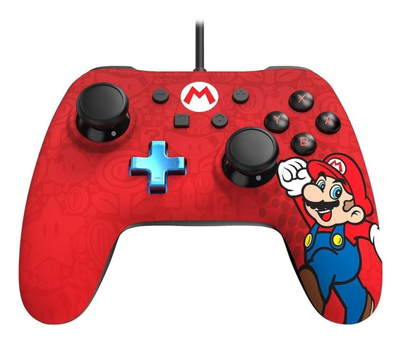 Controle joystick PowerA Wired Controller Switch mario