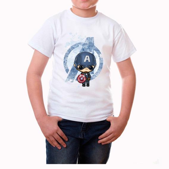 Playera Capitan America Avangers Niños!