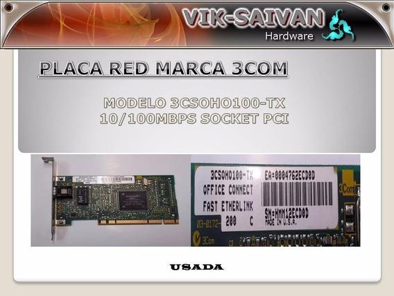 Placa De Red 3com 3csoho100-tx 10/100 Pci 49