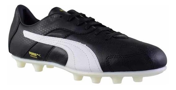 Botines Con Tapones Puma Futbol Borussia C Fg Hombre Ng/bl