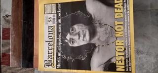 Revista Barcelona. Muerte De Nestor Kirchner