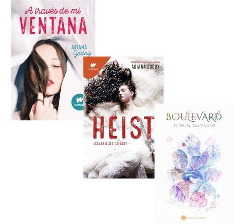 Pack A Través De Mi Ventana + Heist + Boulevard