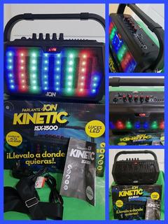 Parlante Ion Kinetic Isx-1500 Radio Bluethoot Oferta