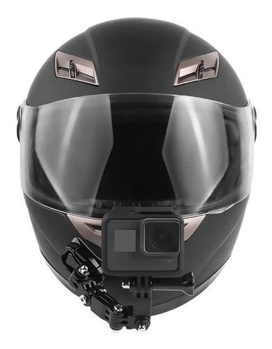 Adhesivo Casco Cara Completa Delantera barbilla de Montaje para Cámara Gopro Sony Action SJCAM