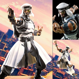 Sh Figuarts : Rashid Street Fighter Bandai Jktoys