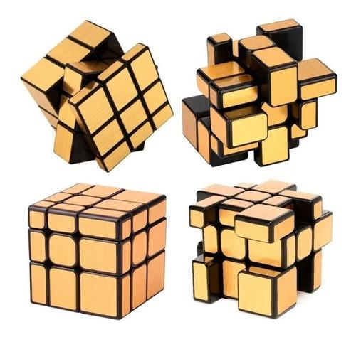 Cubo Rubik Mirror Gold