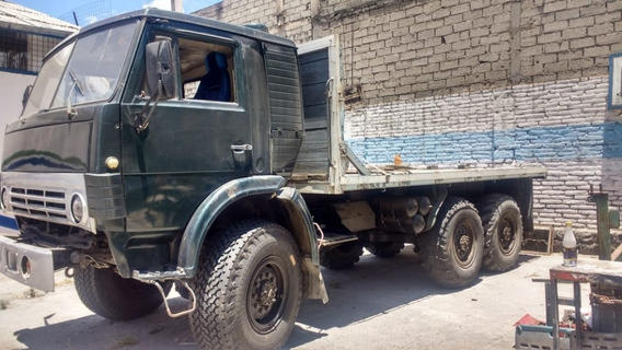 Camión Kamaz De 2 Puertas -1995 Tracción A Las 6 Ruedas