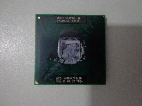 Processador Notebook Intel Pentium P8600 - Slgfd