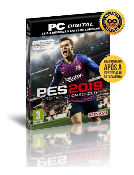 Pro Evolution Soccer 2019 - Pc Digital + Patch + Brinde