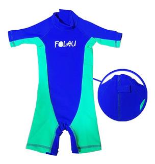 Malla Enterito Bebe Filtro Solar Uv50 Body Agua Full Certif.
