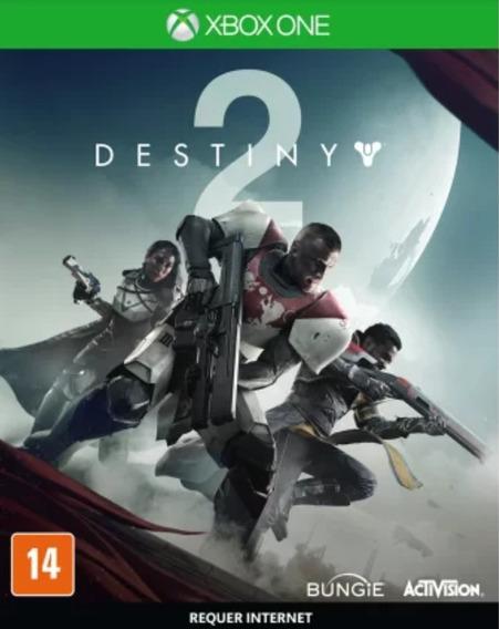 Jogo Destiny 2 Xbox One Mídia Física Lacrado Português