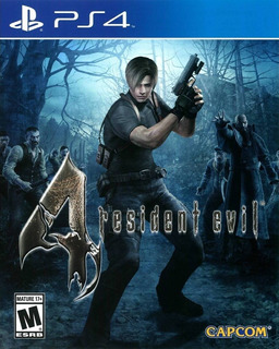 Resident Evil 4 Hd Ps4 Fisico Sellado Original