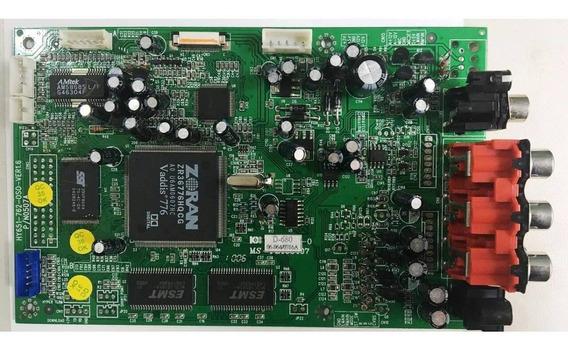 Placa Principal Gradiente D-680 Hy651-762-oso-ver1.6