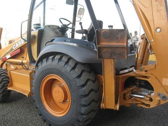 Retro Escavadeira Case 4x4 Gabinada Ano 2012