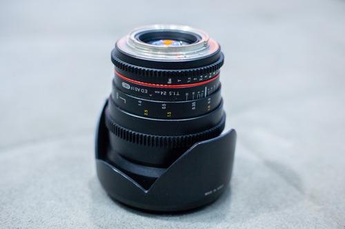 Lente Rokinon 24mm P/ Canon 1.5 Cine Ds