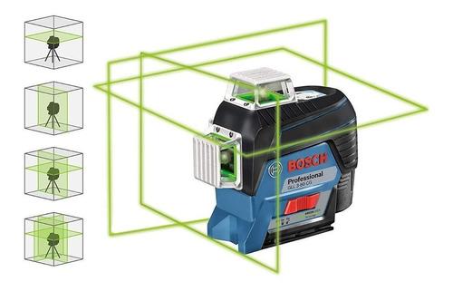 Imagen 1 de 7 de Nivel Laser De Lineas 360º Verde Gll3-80cg Bosch - Ynter