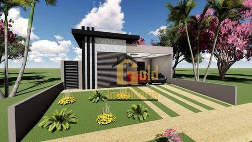 Casa Com 3 Dormitórios À Venda, 150 M² Por R$ 720.000 - Recreio Das Acácias - Ribeirão Preto/sp - Ca0932