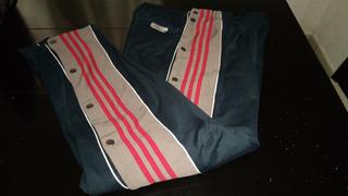 Pants adidas Con Botones Época Año 1999 Talla Grande De Lujo