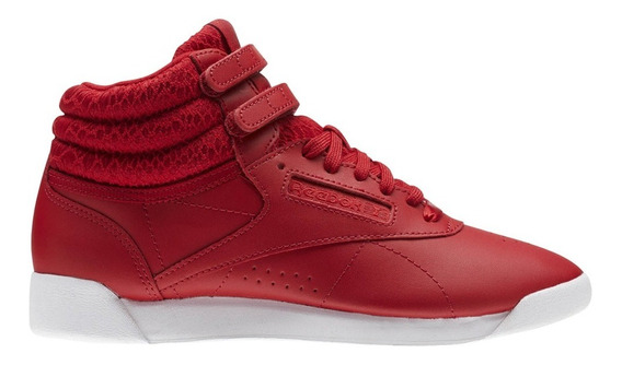 Tenis Atleticos Freestyle High Mujer Reebok Bs9663