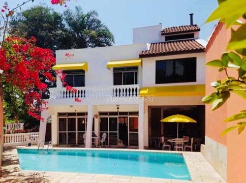 Imagem 1 de 21 de Casa Com 6 Dormitórios, 379 M² - Venda Por R$ 3.990.000,00 Ou Aluguel Por R$ 14.100,00/mês - Bosque Da Saúde - São Paulo/sp - Ca18073