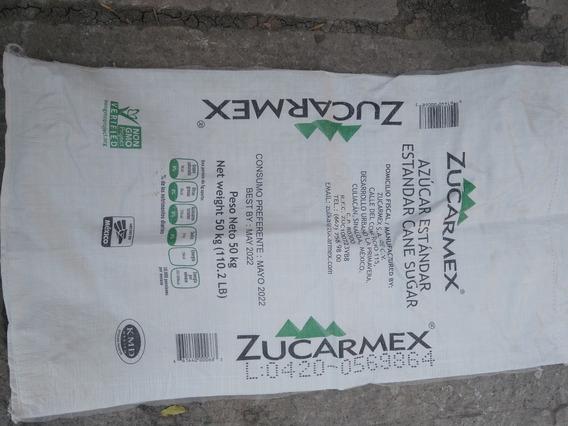 Paquete De 50 Costales De Azucar, 1 Vaciada