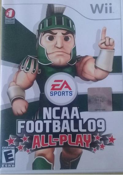 Jogo Nintendo Wii Ncaa Football 09 All-play - Frete Grátis