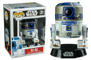 Funko Pop - Star Wars - Chewbacca - R2d2 - Darth Vader
