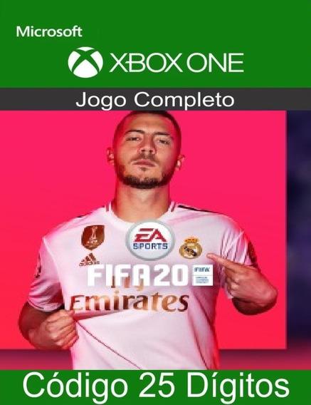 Fifa 20 Pt-br Xbox One Código 25 Dígitos