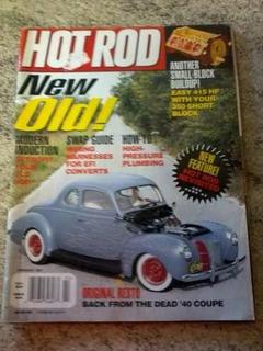 Revista Importada Hot Rod/hots/tecnicas